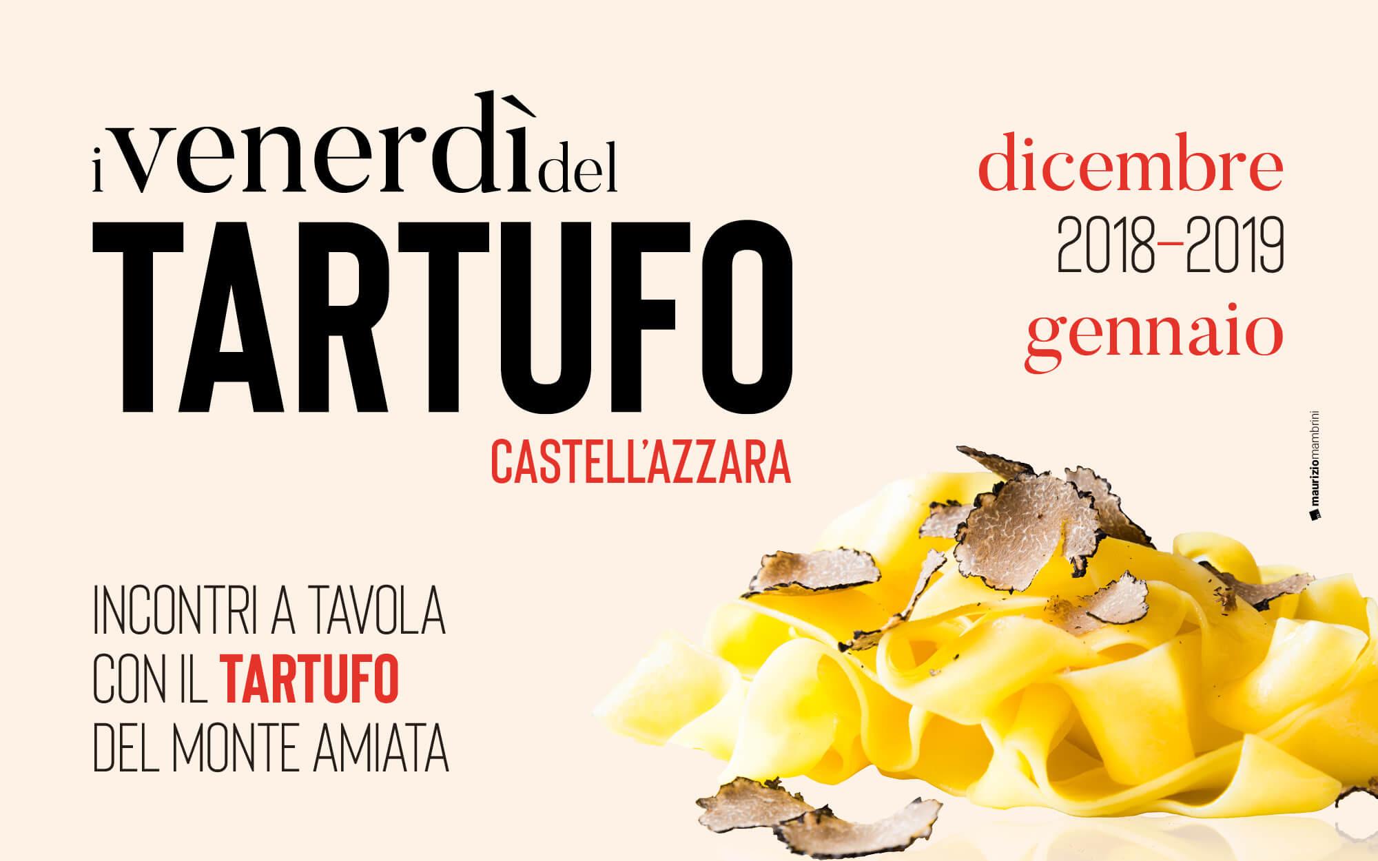 Tartufai Amiata, Venerdì del tartufo
